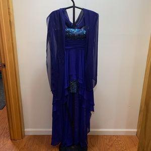 Hailey Logan Dresses - Blue/Purple Hailey Logan by Adrianna Papell